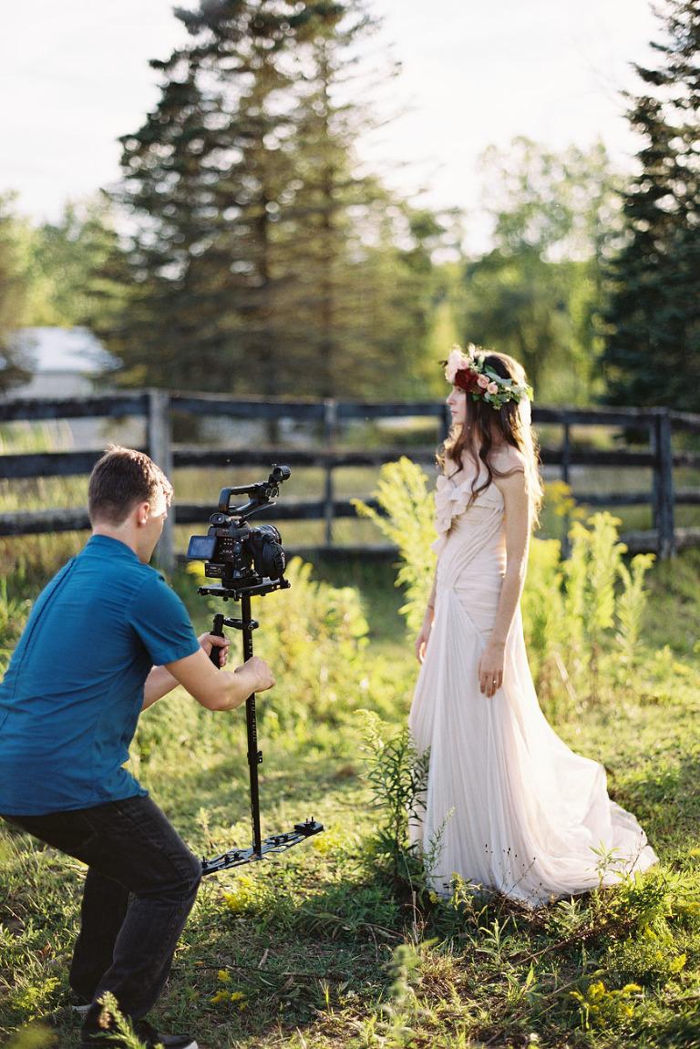 golden hour video shoot