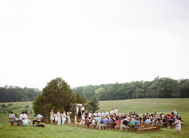 Outdoor Wedding Michigan