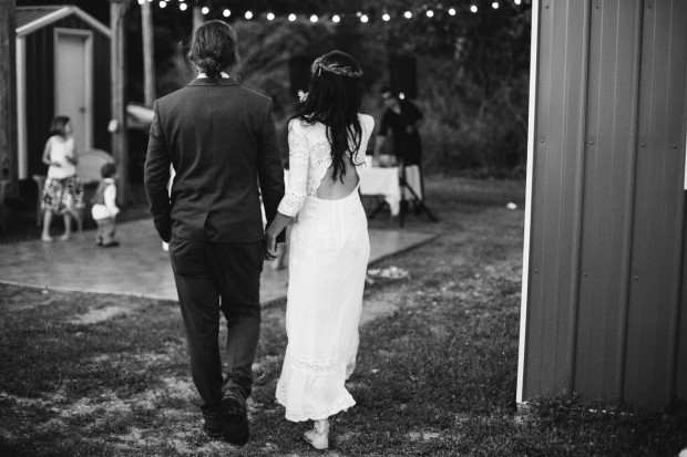 Black and White Wedding Photography Michigan