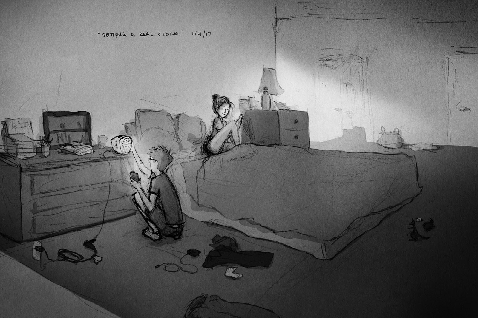 The Drawings of Curtis Wiklund